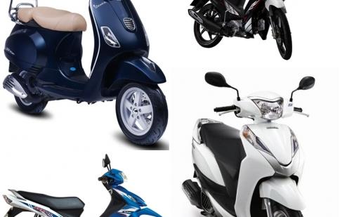 Điểm mặt những mẫu xe máy mới trong năm 2013