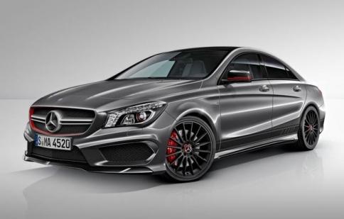 Mercedes tiết lộ CLA45 Edition 1