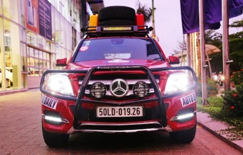 Mercedes-Benz GLK chinh phục Tây Tạng và Everest