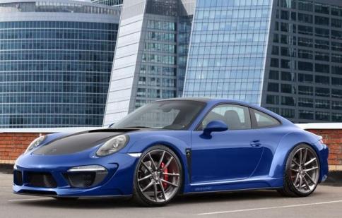 TopCar giới thiệu mẫu xe độ Porsche 911 Stinger