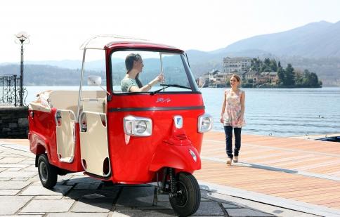 Ape Calessino 200 - dòng xe 3 bánh đặc biệt của Piaggio