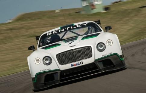 Bentley ra mắt Continental GT3 siêu nhẹ siêu mạnh