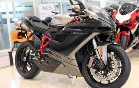 Ducati 848 EVO Corse SE 2013 đầu tiên tại Việt Nam