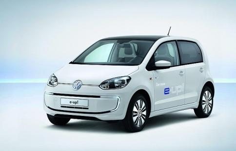 Volkswagen e-Up có giá từ 34,500 USD
