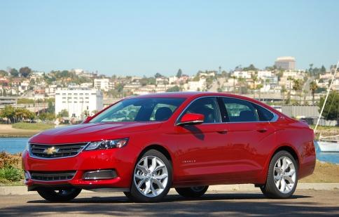 Chevrolet Impala 2014 đạt chuẩn 5 sao về an toàn