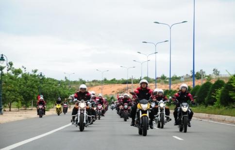 CLB Motorrock ra mắt chi hội Bình Thuận