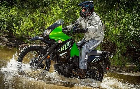 Kawasaki KLR 650 2014 có giá từ 6.499 USD
