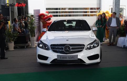 Mercedes-Benz E-Class bất ngờ ra mắt tại Việt Nam