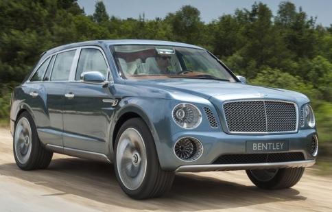 Bentley SUV đi vào sản xuất