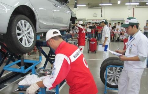 Honda Việt Nam tổ chức hội thi kỹ thuật viên xuất sắc