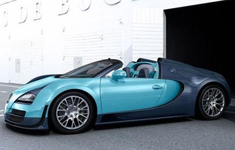 Huyền thoại Bugatti xuất hiện