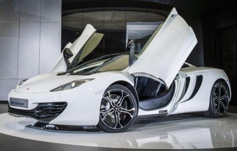 McLaren ra mắt phiên bản 12C B&W