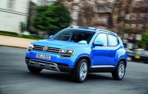 Volkswagen Taigun sẽ gia nhập thị trường vào 2016