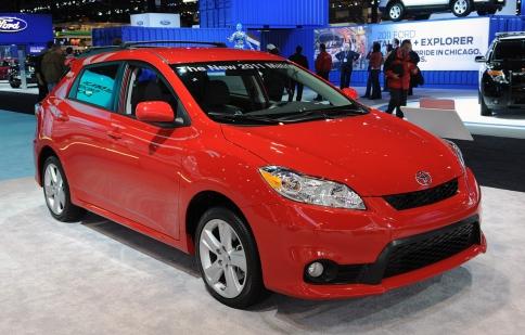 Toyota Matrix ngừng sản xuất