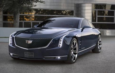 Cadillac ra mắt mẫu coupe cỡ lớn Elmiraj