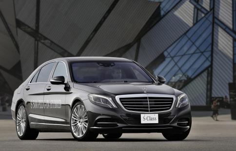 Mercedes-Benz S500 Plug-In Hybrid 2014 có thể đạt vận tốc 250 km/h