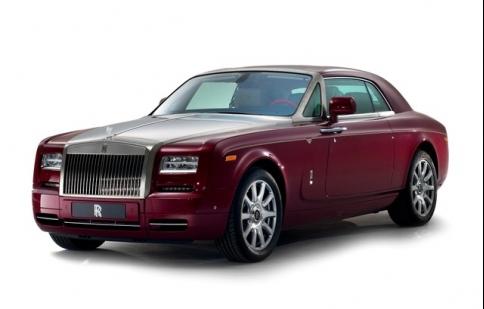 Phiên bản Rolls-Royce Phantom Coupe Ruby độc nhất cho Abu Dhabi