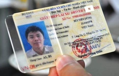 Gộp chung các hạng vào giấy phép lái xe