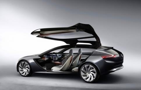 Tiết lộ mẫu Coupe công nghệ cao Vauxhall Monza concept 2013
