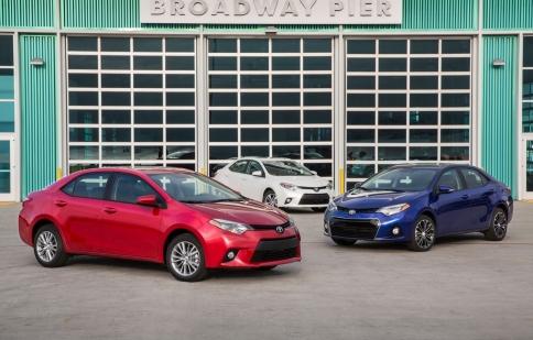 Toyota Corolla 2014 có giá từ 16,800 USD