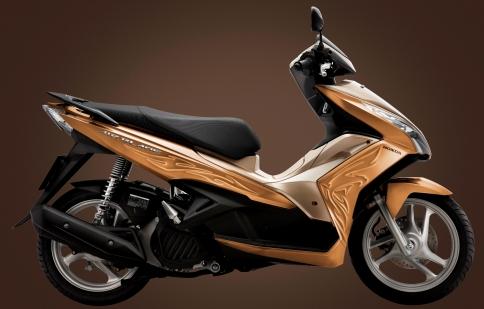 Honda ra mắt Air Blade FI với họa tiết 3D mới