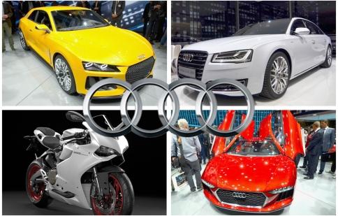 Frankfurt Motor Show 2013: Audi giới thiệu cả ô tô lẫn mô tô