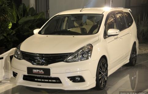 Nissan Grand Livina  2013 7 chỗ ra mắt