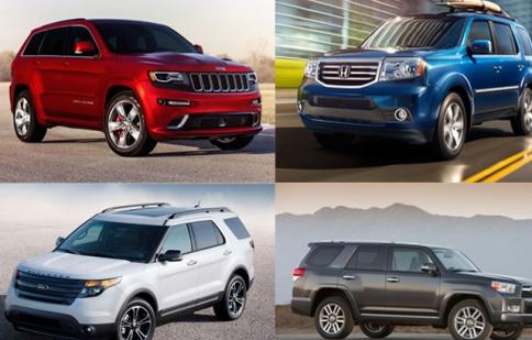 Top 10 xe SUV rẻ nhất