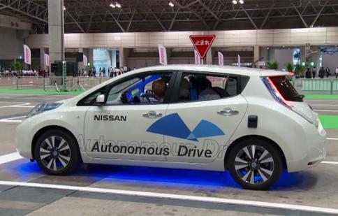 Chứng kiến xe tự lái của Nissan