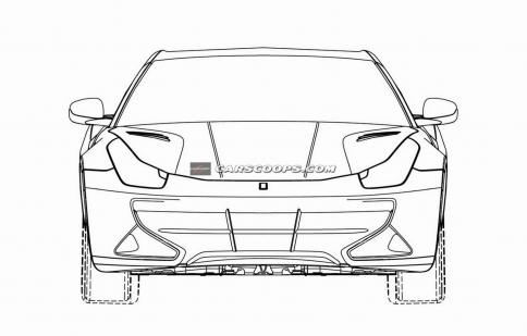 Ferrari lộ diện bản thiết kế