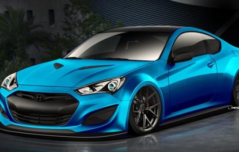 Hyundai giới thiệu mẫu xe thứ 3 xuất hiện tại SEMA Show