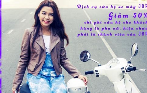 JBR Việt Nam ưu đãi khách hàng nữ