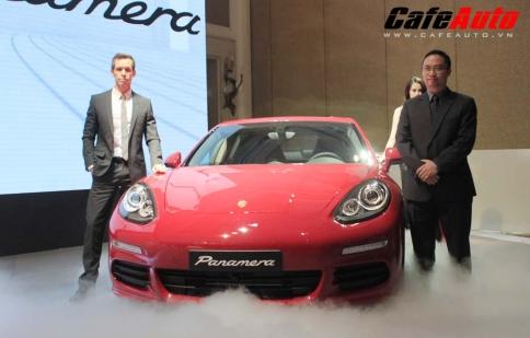 Porsche Panamera thế hệ mới ra mắt tại Việt Nam