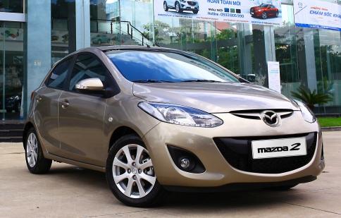 Mazda đặt mục tiêu bán 4.500 xe trong năm 2013