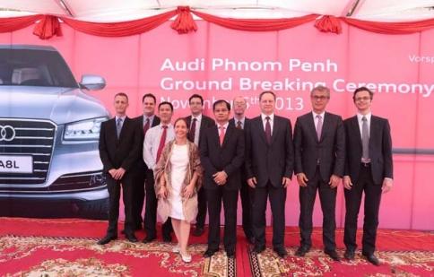 Audi Việt Nam mở rộng thị trường sang Campuchia