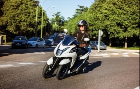 EICMA 2013 : Yamaha giới thiệu xe tay ga 3 bánh Tricity