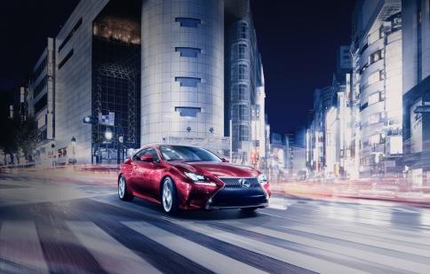 Lexus RC lộ diện trước thềm Tokyo Motor Show