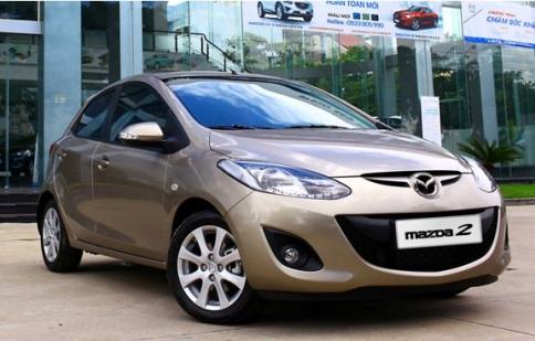 Mazda2 S AT giảm giá 20 triệu đồng
