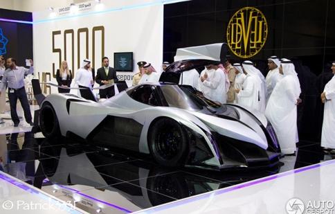 Siêu xe Ả Rập soán ngôi vua của Bugatti Veyron