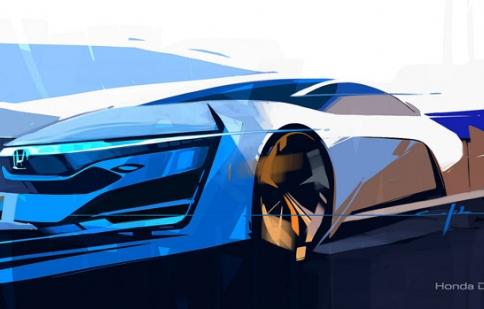 Honda ra mắt FCEV Concept tại LA Show