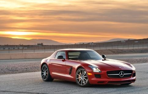 Mercedes SLS Final Edition nói lời chia tay ở LA Show