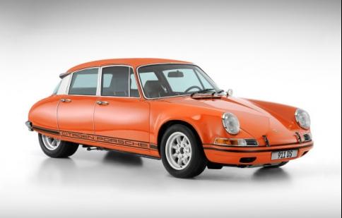 """Xem """"con lai"""" giữa Porsche 911 và Citroen DS"""