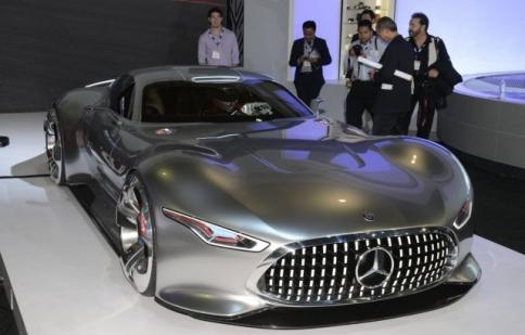 LA Auto Show 2013: Mercedes-Benz AMG Vision Gran Turismo cực ấn tượng