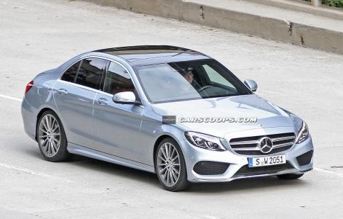 Mercedes-Benz C-Class 2015 Sedan lộ diện hoàn chỉnh