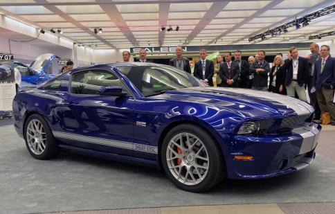 Shelby tiết lộ gói nâng cấp đến 624 mã lực