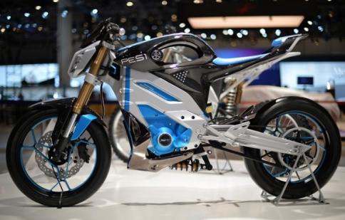 Yamaha ra mắt motor concept chạy điện