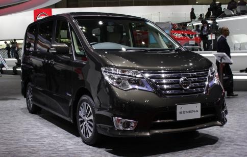 Tokyo Motor Show 2013: Nissan Serena 2014 ra mắt ở Tokyo