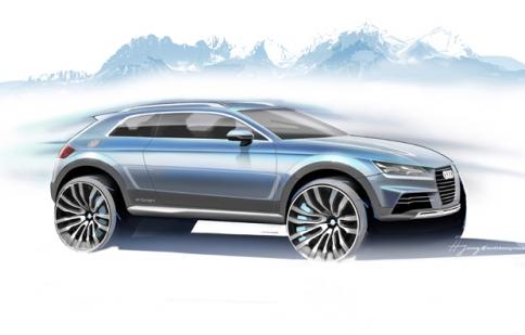 Audi có thêm mẫu Crossover hai cửa
