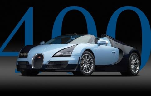 Bugatti đã bán 400 chiếc Veyron