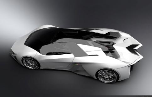 Lamborghini Diamante 2023 - siêu xe chạy điện tương lai